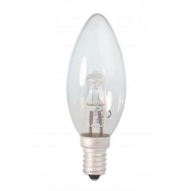 Calex, E14 28W 230V Halogen B35 bec formă de lumanare din sticlă transparentă, Lămpi halogene, CA0347-CB, EtronixCenter.com