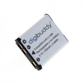 digibuddy - Batterij voor Olympus LI-40B / Nikon EN-EL10 / Fuji NP-45 Li-Ion - Olympus foto-video batterijen - ON1589-C www.N...