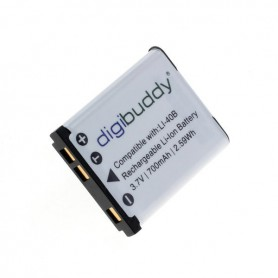digibuddy - Batterij voor Olympus LI-40B / Nikon EN-EL10 / Fuji NP-45 Li-Ion - Olympus foto-video batterijen - ON1589 www.Ned...