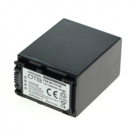 OTB, Battery for Sony NP-FV100 3300mAh Li-Ion, Sony photo-video batteries, ON2802, EtronixCenter.com