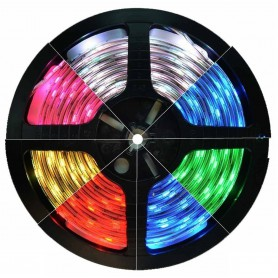 RGB IP65 12V Banda LED SMD3528 60led p/m