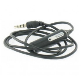 Oem - Iphone, Nokia, HTC, Blackberry 3.5mm Headset Adapter with Microphone and earphones - iPhone data cables - 00456