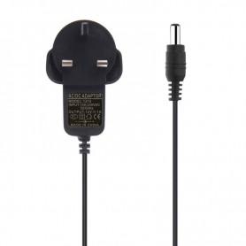 NedRo - 1A 12V DC 100-240V LED Strip Adapter Stroomvoorziening - UK Plug - Pluggen en Adapters - APA04 www.NedRo.nl