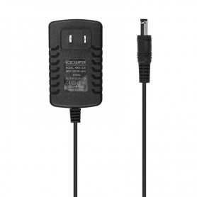 NedRo, 2A 12V DC 100-24V LED Strip Adapter Stroomvoorziening - US Plug, Pluggen en Adapters, APA05, EtronixCenter.com