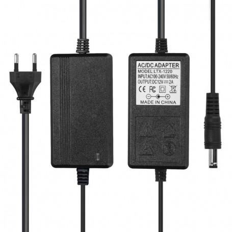 NedRo, 2A 12V DC 100-240V Adaptor Alimentare Bandă cu LED, Mufe și adaptoare, APA10, EtronixCenter.com