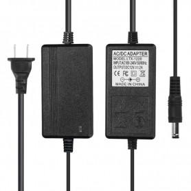 NedRo - 2A 12V DC 100-240V Adaptor Alimentare Bandă cu LED - US Plug - Mufe și adaptoare - APA09 www.NedRo.ro