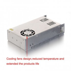NedRo, DC48V 7.5A 377.5W Switching Power Supply Adapter Driver Transformer, LED Transformers, SPS46
