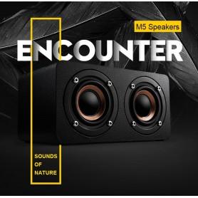 NedRo - 10W Mini Bluetooth v4-luidspreker 3D MP3 FM-radio Aux TF - Luidsprekers - AL134-ZW www.NedRo.nl
