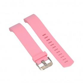 NedRo - Siliconen Armband voor Fitbit Charge 2 - Armbanden - PI-AL135-S www.NedRo.nl