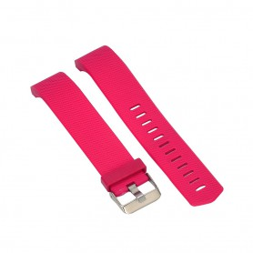 NedRo - Siliconen Armband voor Fitbit Charge 2 - Armbanden - RR-AL135-S www.NedRo.nl