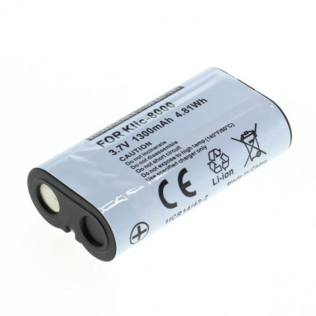 OTB, Battery for Kodak Klic-8000 Li-Ion 1300mAh, Kodak photo-video batteries, ON1463