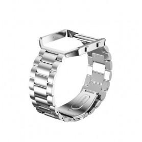NedRo - Metalen armband voor Fitbit Blaze met behuizing - Armbanden - AL138-CB www.NedRo.nl