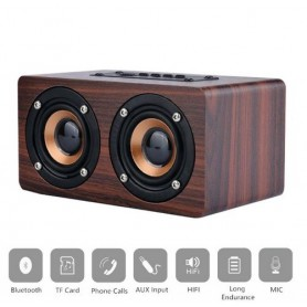 NedRo, 10W Mini Bluetooth v4 Speaker 3D MP3 FM Radio Aux TF, Speakers, AL134-CB