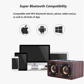 NedRo - 10W Mini Bluetooth v4-luidspreker 3D MP3 FM-radio Aux TF - Luidsprekers - AL134-CB www.NedRo.nl