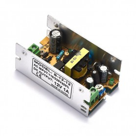 NedRo - DC12V 1A 12W Switching Power Supply Adapter Driver Transformer - LED Transformers - SPS01 www.NedRo.us