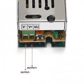 NedRo - DC12V 1A 12W Schakel Stroomadapter Driver Transformator - LED Transformatoren - SPS01 www.NedRo.nl