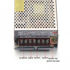 NedRo - DC12V 10A 120W Schakel Stroomadapter Driver Transformator - LED Transformatoren - SPS11 www.NedRo.nl