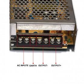 NedRo, DC12V 12.5A 150W Transformator Adaptor alimentare, comutare, Transformatoare LED, SPS12, EtronixCenter.com