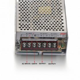 NedRo - DC12V 15A 180W Schakel Stroomadapter Driver Transformator - LED Transformatoren - SPS14 www.NedRo.nl