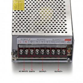 NedRo, DC12V 20A 240W Transformator Adaptor alimentare, comutare, Transformatoare LED, SPS16, EtronixCenter.com