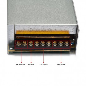NedRo - DC12V 20A 240W Switching Power Supply Adapter Driver Transformer - LED Transformers - SPS60 www.NedRo.us