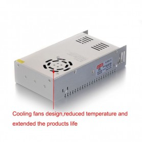 NedRo - DC12V 30A 360W Switching Power Supply Adapter Driver Transformer - LED Transformers - SPS18 www.NedRo.us