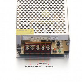 NedRo - DC24V 3A 72W Switching Power Supply Adapter Driver Transformer - LED Transformers - SPS24 www.NedRo.us