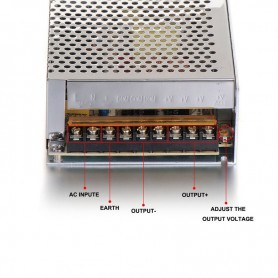 NedRo - DC24V 10A 240W Schakel Stroomadapter Driver Transformator - LED Transformatoren - SPS29 www.NedRo.nl