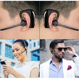 HD Voice - K10 Bluetooth Headset Draadloze Oortelefoon Hoofdtelefoon met Microfoon - Koptelefoon en Accessoires - AL143 www.N...