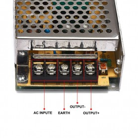 NedRo - DC5V 6A 30W Switching Power Supply Adapter Driver Transformer - LED Transformers - SPS37-C www.NedRo.us