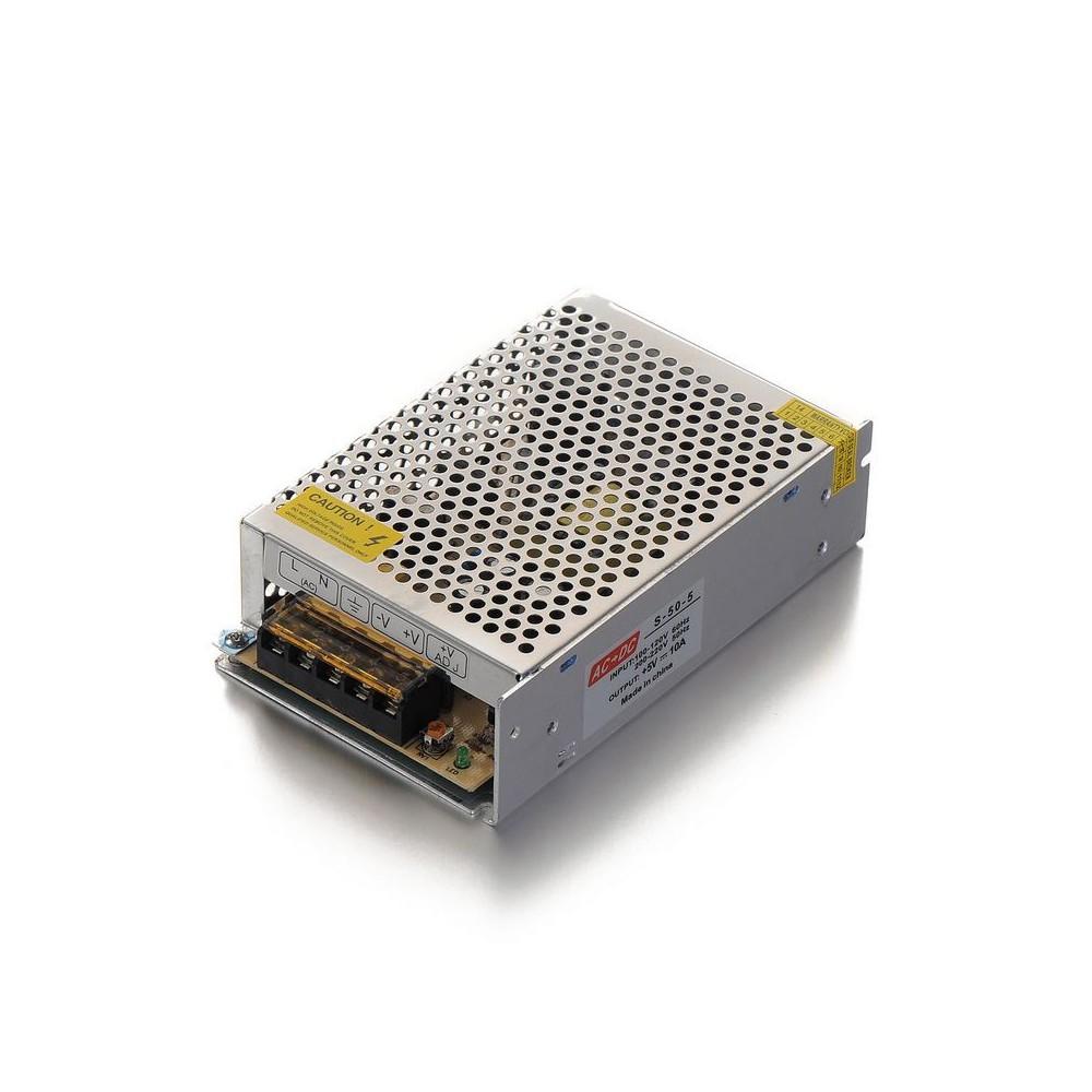 NedRo - DC5V 10A 50W Schaltnetzteil Adapter Treiber Transformator - LED Transformers - SPS39 www.NedRo.de