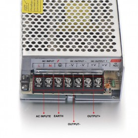 NedRo, DC5V 20A 100W Transformator Adaptor alimentare, comutare, Transformatoare LED, SPS41, EtronixCenter.com