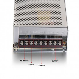 NedRo - DC5V 40A 200W Switching Power Supply Adapter Driver Transformer - LED Transformers - SPS43 www.NedRo.us