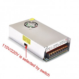 NedRo - DC5V 40A 200W Switching Power Supply Adapter Driver Transformer - LED Transformers - SPS61 www.NedRo.us