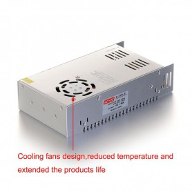 NedRo - DC5V 60A 300W Switching Power Supply Adapter Driver Transformer - LED Transformers - SPS45-C www.NedRo.us