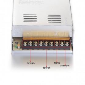 NedRo - DC5V 60A 300W Schakel Stroomadapter Driver Transformator - LED Transformatoren - SPS45 www.NedRo.nl