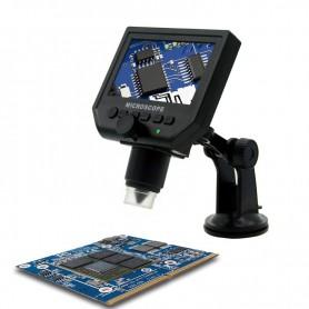 Datyson Optics - 1-600X 3.6MP 4,3 inch HD OLED LCD Digitale Microscoop met vacuüm zuignap onderstel - Loepen en Microscopen -...