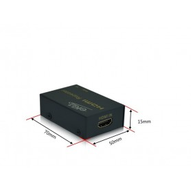 EKL, 1080P Mini 50M HDMI Repeater Box Extender Uitbreiding Versterker Booster Adapter, HDMI adapters, AL145, EtronixCenter.com
