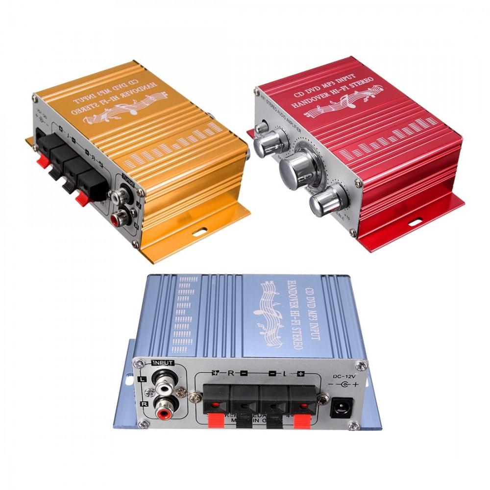 NedRo - RCA 2 Kanal Hi-Fi Stereo Verstärker Booster - Audio adapters - AL146 www.NedRo.de