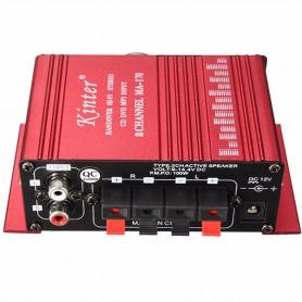 NedRo - RCA Tulp 2-kanaals hifi-stereoversterker audio versterker - Audio adapters - AL146-RE www.NedRo.nl