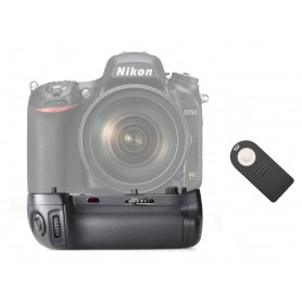 Travor - Batterij grip compatibel met Nikon D750 MB-D16 - Nikon foto-video batterijen - AL148 www.NedRo.nl