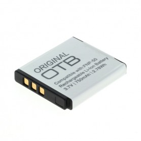 OTB - Battery for Fuji NP-50/ Pentax D-LI68 / Kodak Klic-7004 - Fujifilm photo-video batteries - ON1546 www.NedRo.us