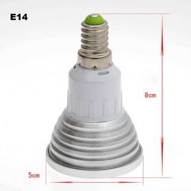 Oem - E14 3W 16 Color Dimmable LED Bulb with Remote Control - E14 LED - AL151-CB