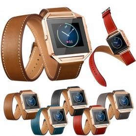 Oem - Infinity Leather Bracelet for Fitbit Blaze without Housing - Bracelets - AL152-CB