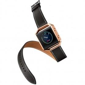 NedRo - Infinity Leer Armband voor Fitbit Blaze zonder behuizing - Armbanden - AL152-BL www.NedRo.nl