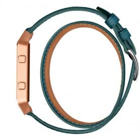 NedRo - Infinity Leer Armband voor Fitbit Blaze zonder behuizing - Armbanden - AL152-BU www.NedRo.nl