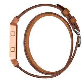 NedRo - Infinity Leer Armband voor Fitbit Blaze zonder behuizing - Armbanden - AL152-CB www.NedRo.nl