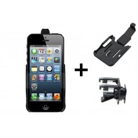 Haicom, Auto Ventilator Haicom klem houder voor Apple iPhone 5 / iPhone 5s / iPhone SE HI-228, Auto ventilator telefoonhouder...