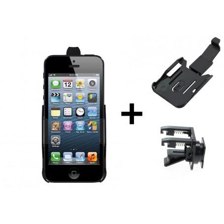 Haicom - Auto Ventilator Haicom klem houder voor Apple iPhone 5 / iPhone 5s / iPhone SE HI-228 - Auto ventilator telefoonhoud...