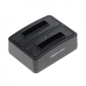 Dual Battery Chargingdock compatible with Samsung BG800BBE